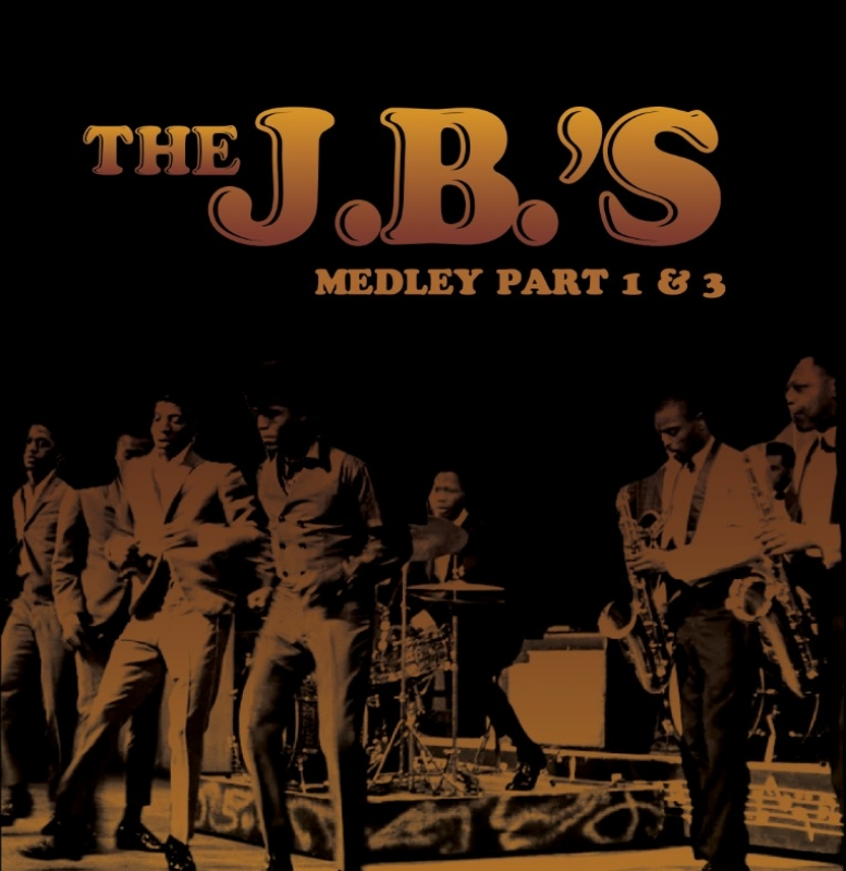 THE JBS - JAMES BROWN MEDLEY PART 1 E 3 LP COMPACTO 7 POLEGADAS