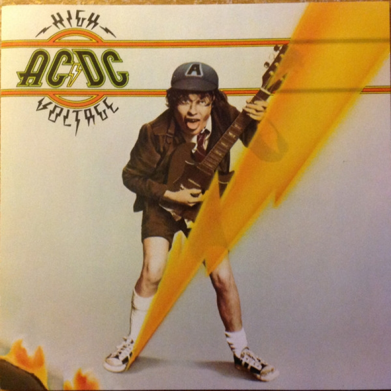 AC DC - High Voltage CD