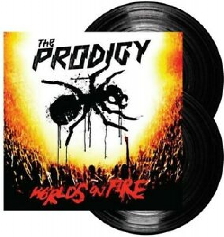 LP THE PRODIGY - Worlds On Fire Live At Milton Keynes Bowl VINYL DUPLO LACRADO