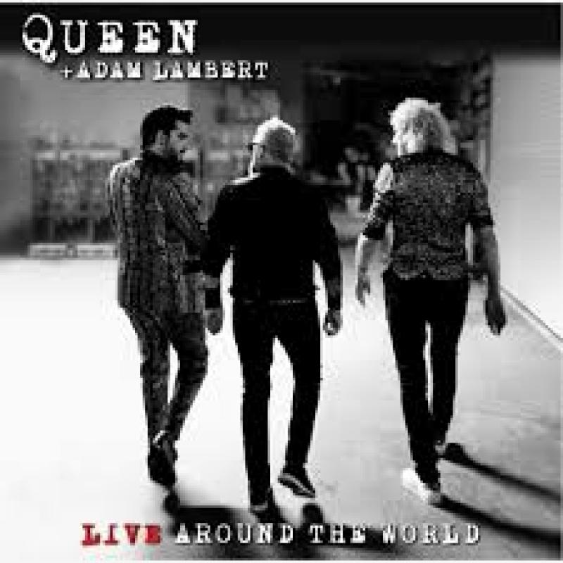 QUEEN e ADAM LAMBERT - LIVE AROUND THE WORLD (CD)
