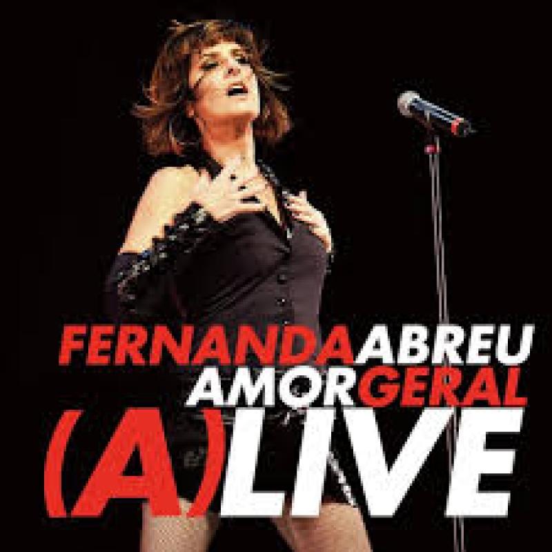 FERNANDA ABREU - AMOR GERAL (A)LIVE (CD)