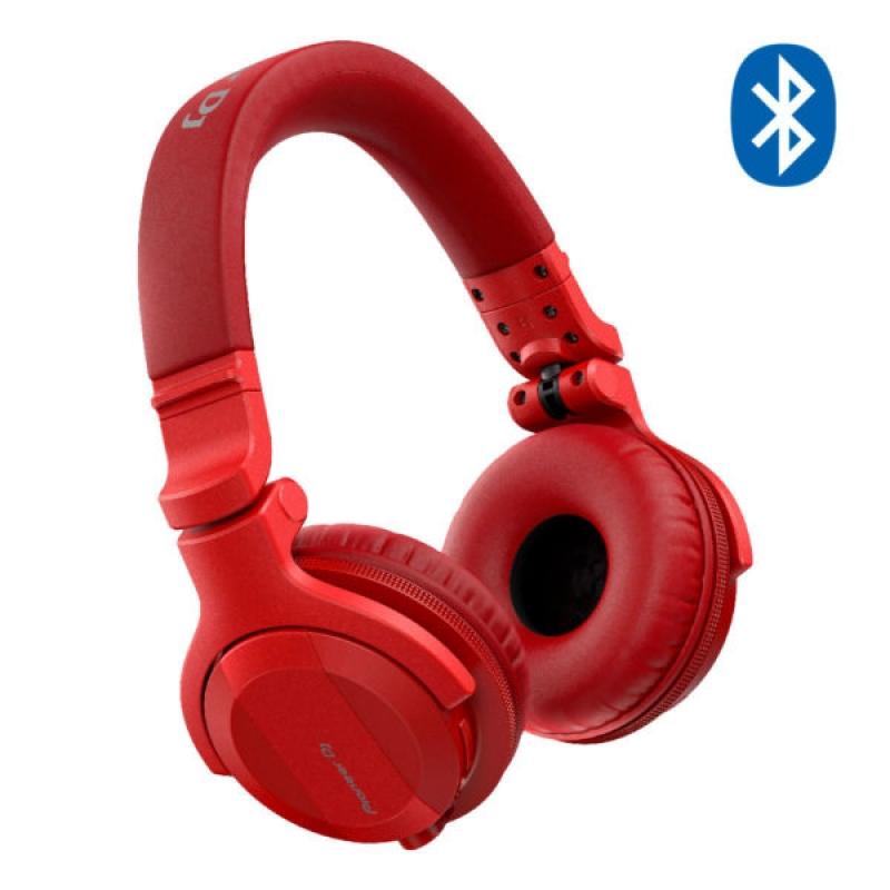 Fone HDJ-CUE1 BT (bluetooth) Pioneer DJ Vermelho