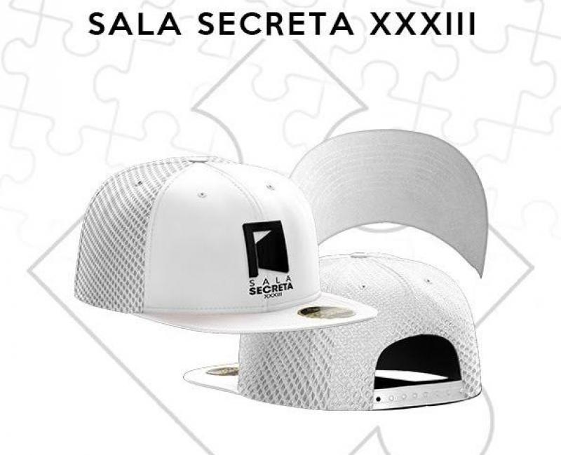 BONE SALA SECRETA BRANCO COM REDE