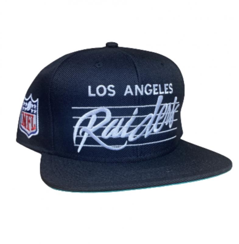 BONE LOS ANGELES RAIDERS NFL PRETO