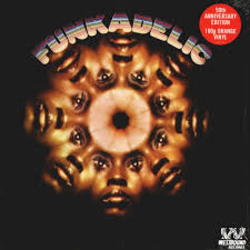 LP Funkadelic - Funkadelic 50th Anniversary Edition (180gm Orange Vinyl)
