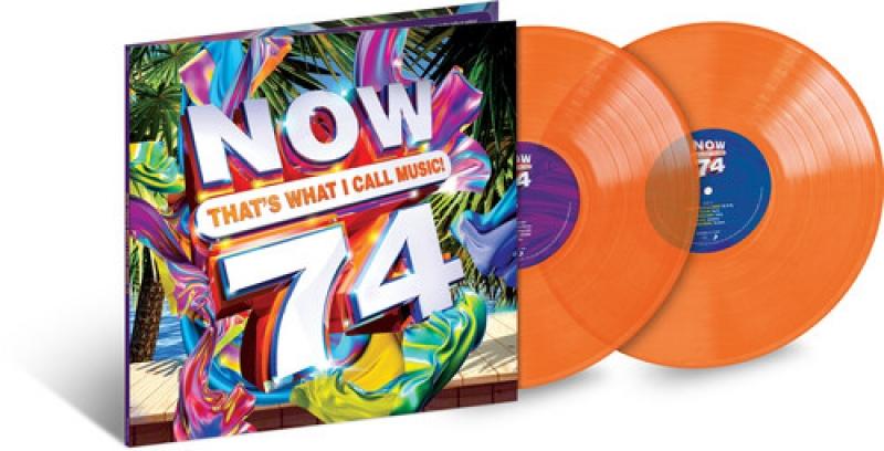 LP Now 74 - Various Artists VINYL DUPLO LARANJA LACRADO