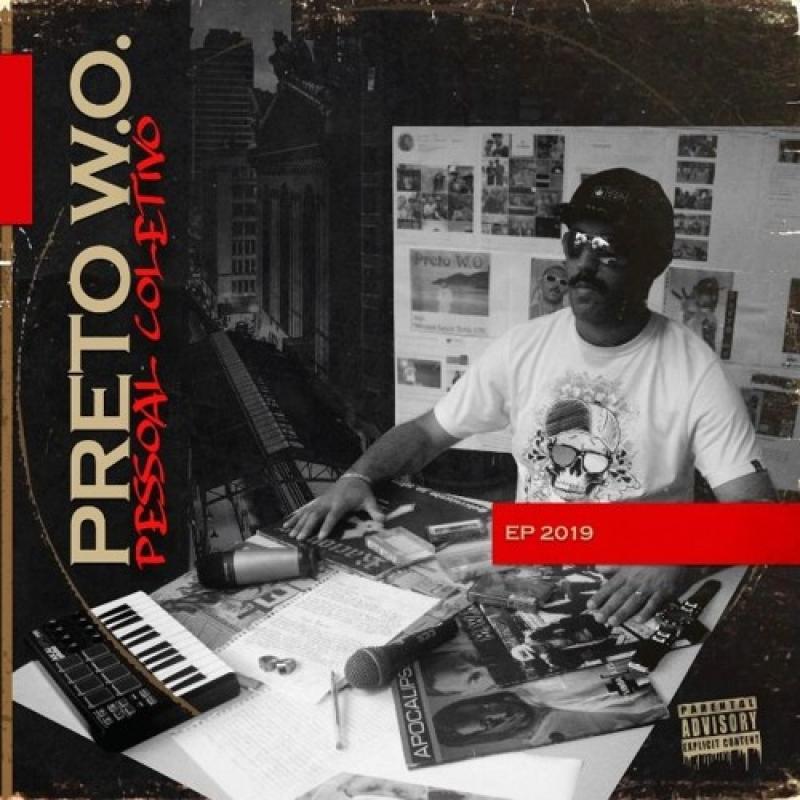PRETO WO - PESSOAL COLETIVO (CD) RAP NACIONAL