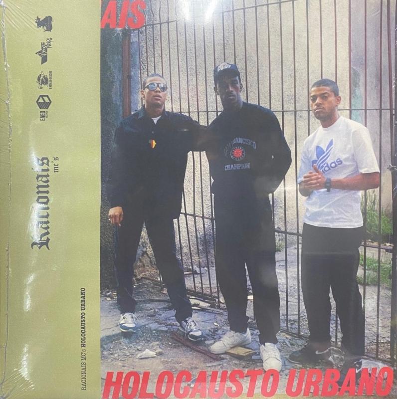 LP Racionais Mcs - Holocausto Urbano VINYL (LACRADO)