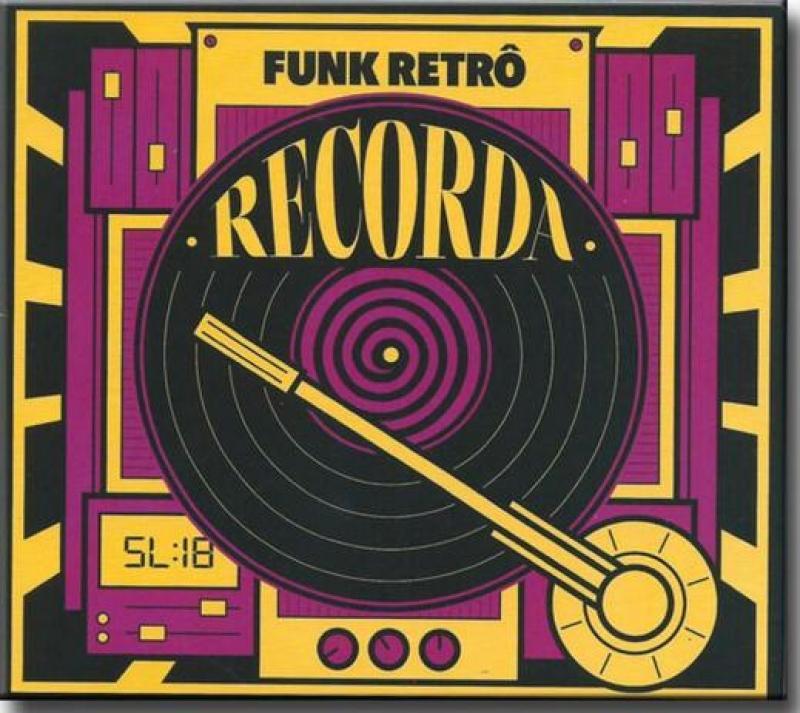 Funk Retro RECORDA - SANDRA SA MARCOS VALLE DON BETO ROBSON JORGE (CD)
