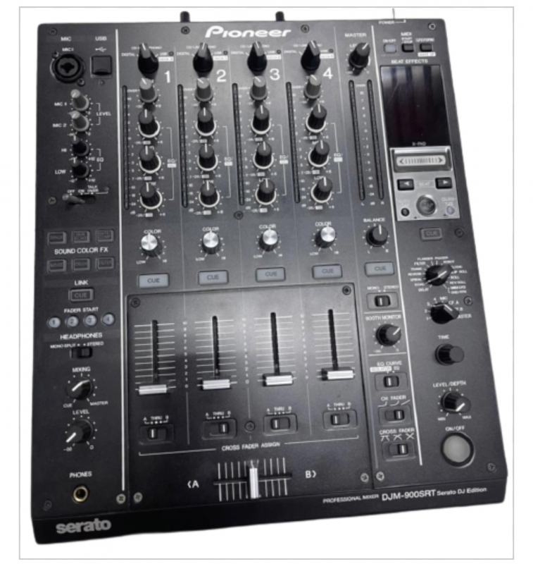 Pioneer DJ Mixer DJM 900SRT com SERATO (semi novo) pouco uso