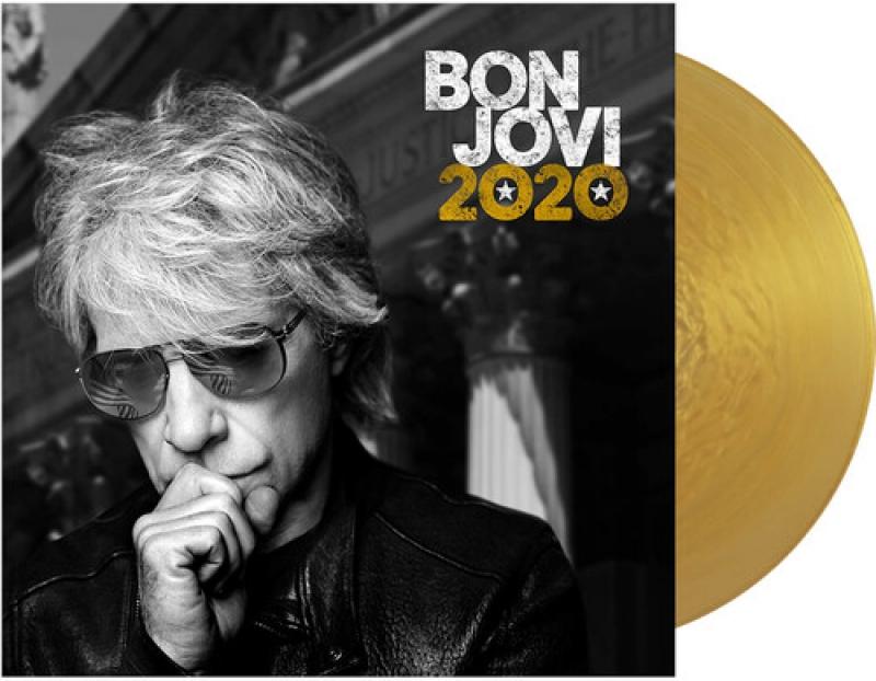 LP Bon Jovi - 2020 VINYL DUPLO IMPORTADO LACRADO