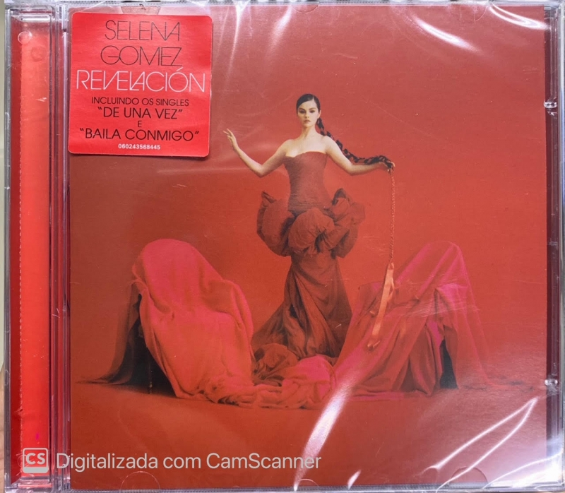 SELENA GOMEZ - REVELACION VERSAO STANDARD (CD)