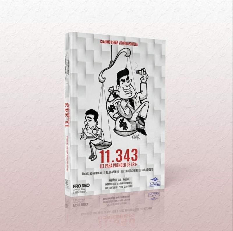 Livro Dr Portela - 11 343 06  Lei Para Prender Os 4Ps