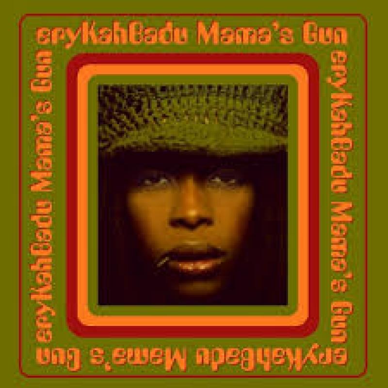 Erykah Badu - Mama s gun  IMPORTADO
