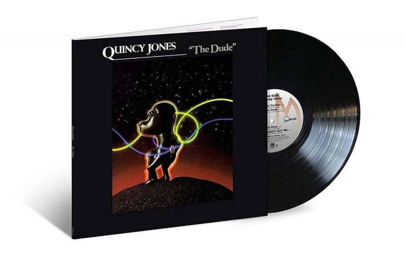 LP Quincy Jones - THE DUDE 40TH ANNIVERSARY VINYL LACRADO