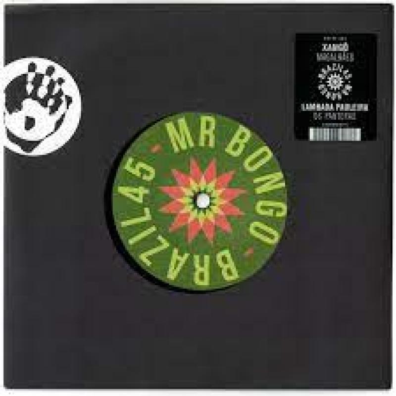 LP MagalhAes -Os Panteras - Xango Lambada Pauleira VINYL 7 POL MR BONGO