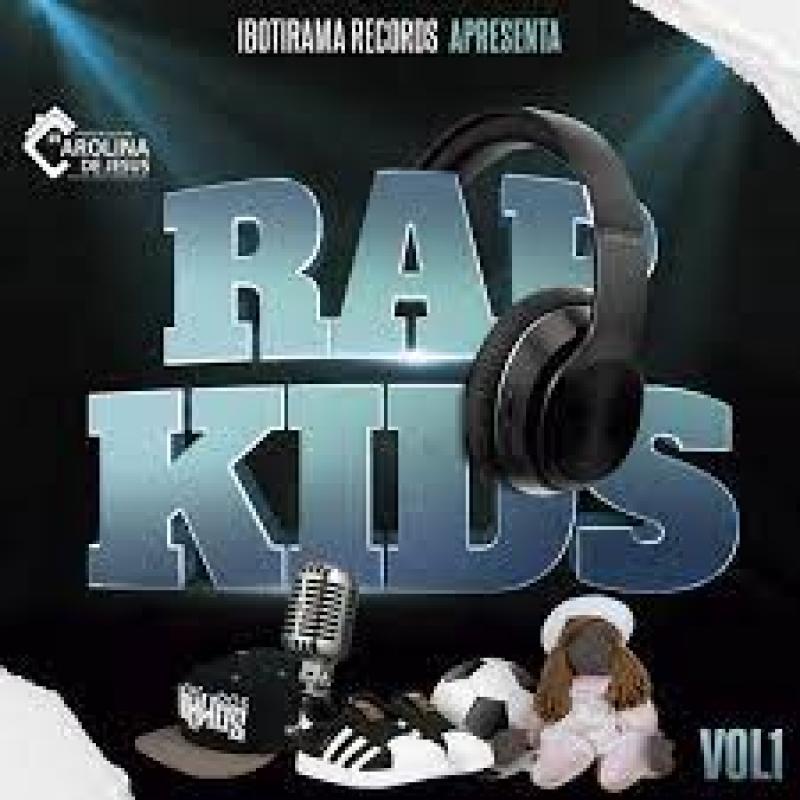 RAP KIDS - IBOTIRAMA RECORDS APRESENTA (CD) RAP NACIONAL