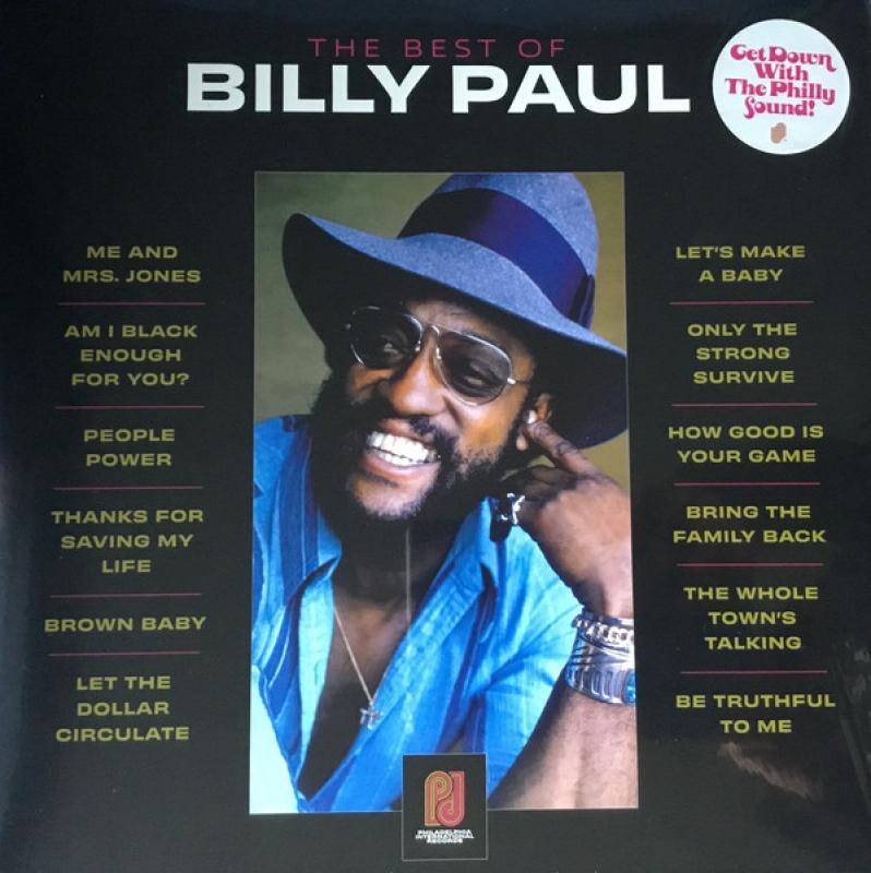 LP Billy Paul - The Best Of VINYL IMPORTADO LACRADO