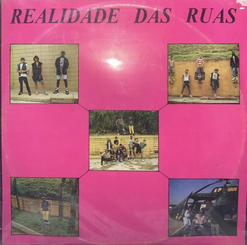 LP Realidade Das Ruas - Coletanea Lp Vinil - Rap Hip Hop