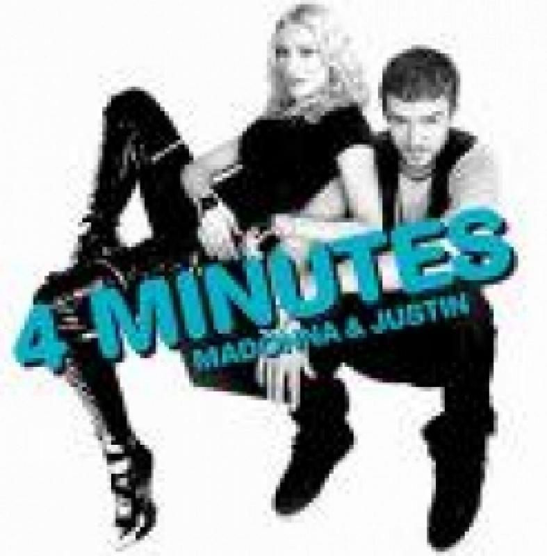 Madonna - 4 Minutes CD SINGLE IMPORTADO