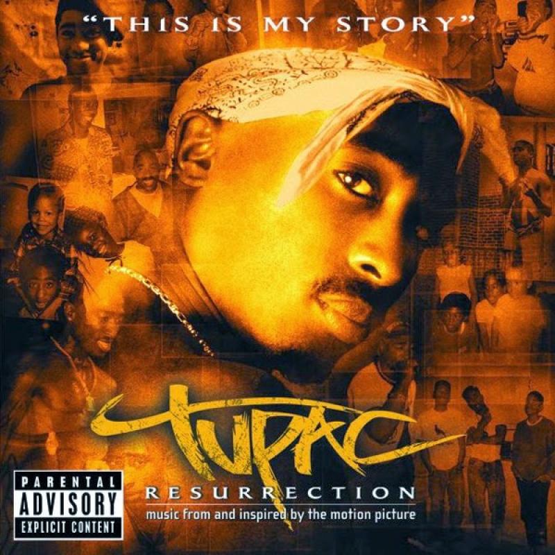 2 PAC Tupac - Resurrection Soundtrack IMPORTADO (CD)