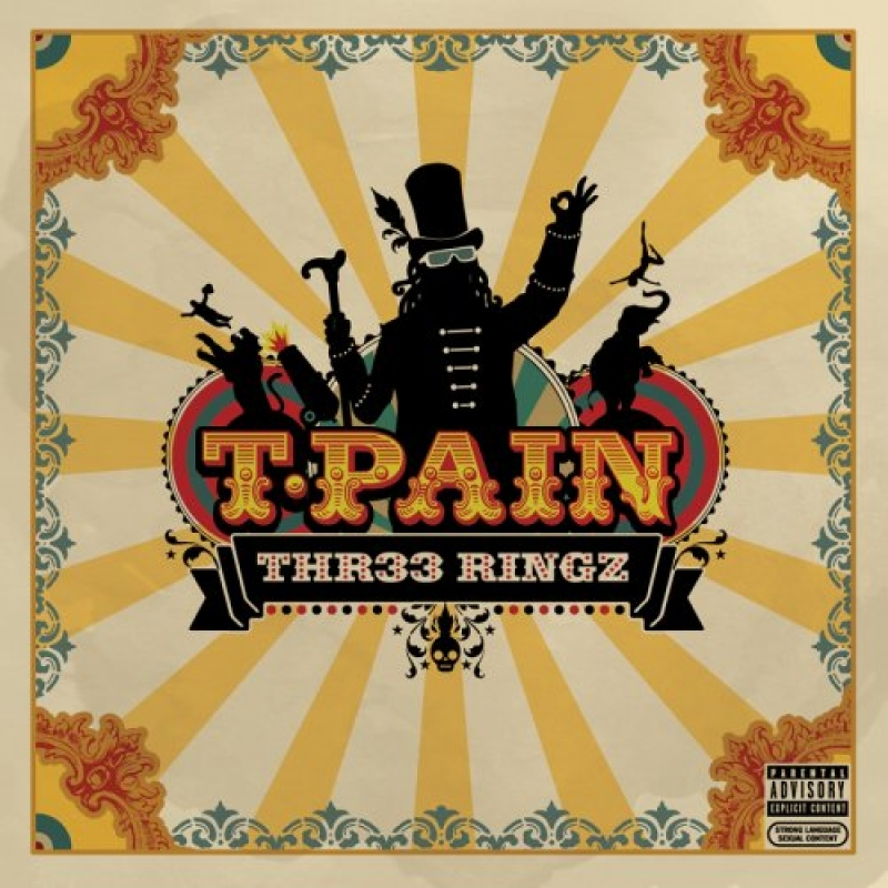 T-Pain - THR33 Ringz (CD)