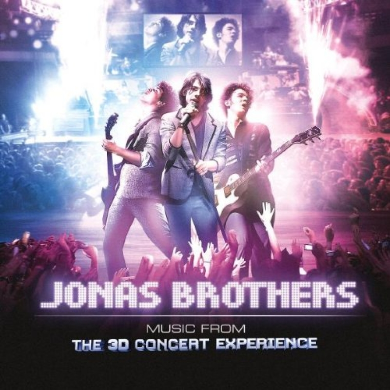 Jonas Brothers - 3D Concert Experience Soundtrack (CD)
