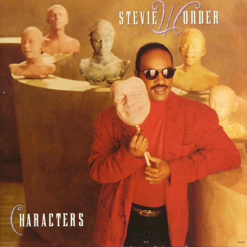 Stevie Wonder - Characters (CD) semi novo