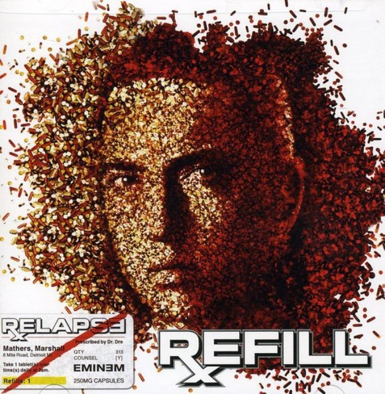 Eminem Relapse - Refill CD DUPLO (IMPORTADO