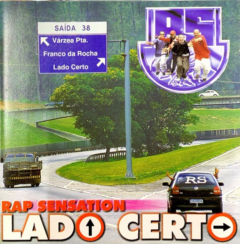 Rap Sensation - Lado Certo (CD)