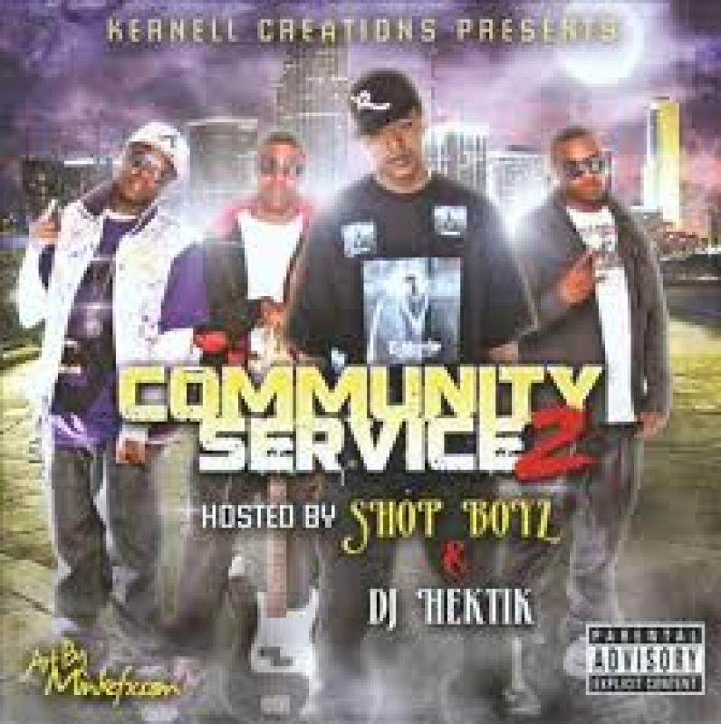 Shop Boyz & Dj Hektik - Community Service 2 (CD)