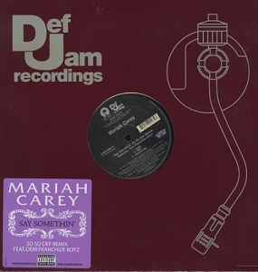 LP Mariah Carey - Say Something (VINYL SINGLE IMPORTADO LACRADO)