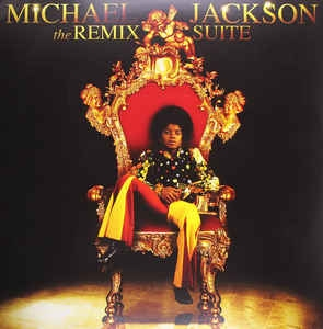 LP Michael Jackson - The Remix Suite VINYL DUPLO IMPORTADO (LACRADO)