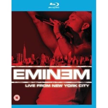 Eminem - Live  New York City  Blu-Ray IMPORTADO