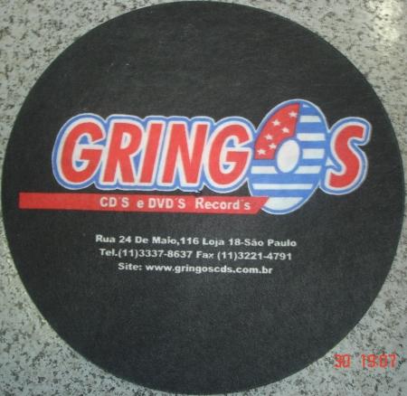 FELTROS GRINGOS RECORDS PRETO