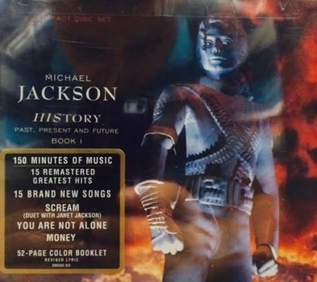 Michael Jackson - History Past, Present And Future - Book I (2CD) IMPORTADO USA