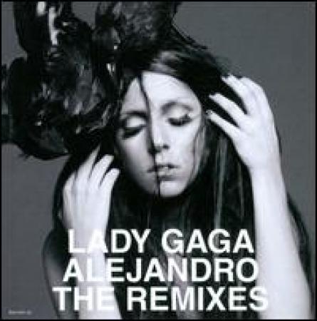 Lady Gaga - Alejandro: The Remixes  CD SINGLE