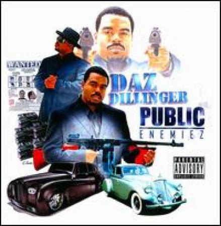 Daz Dillinger - Public Enemiez (CD)
