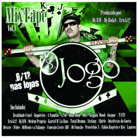 DJ BOLA 8 - Mixtape - O Jogo - Vol 01 RAP NACIONAL