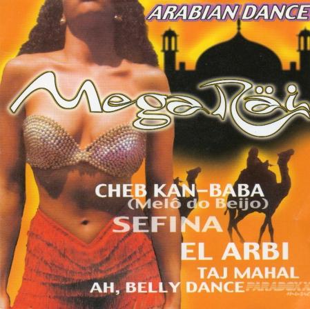 Mega Rai - Arabian Dance ( CD )