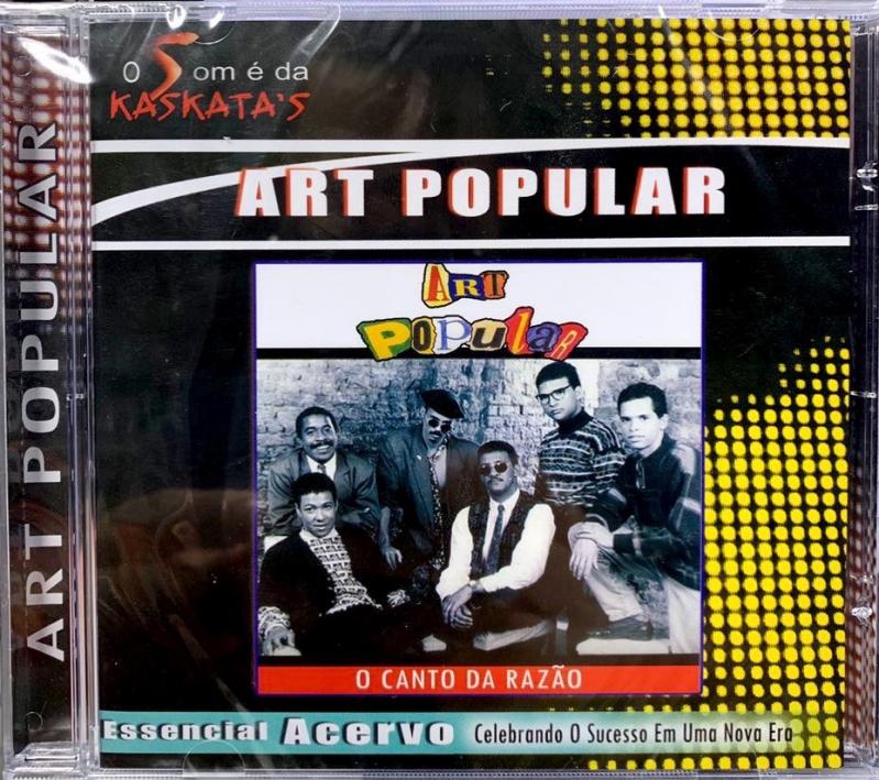 Art Popular - O Canto da razao (CD)