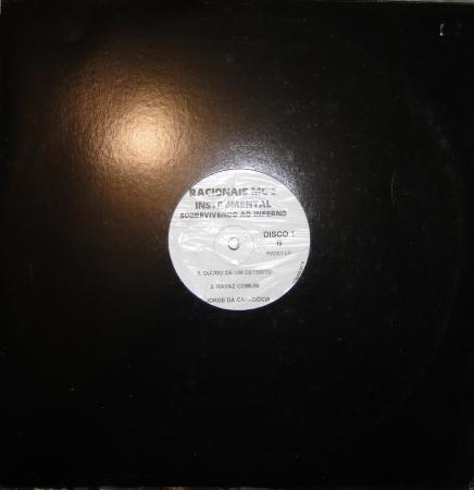 LP VINYL Racionais Mc's - Sobrevivendo Ao Inferno (INSTRUMENTAL) LP DUPLO