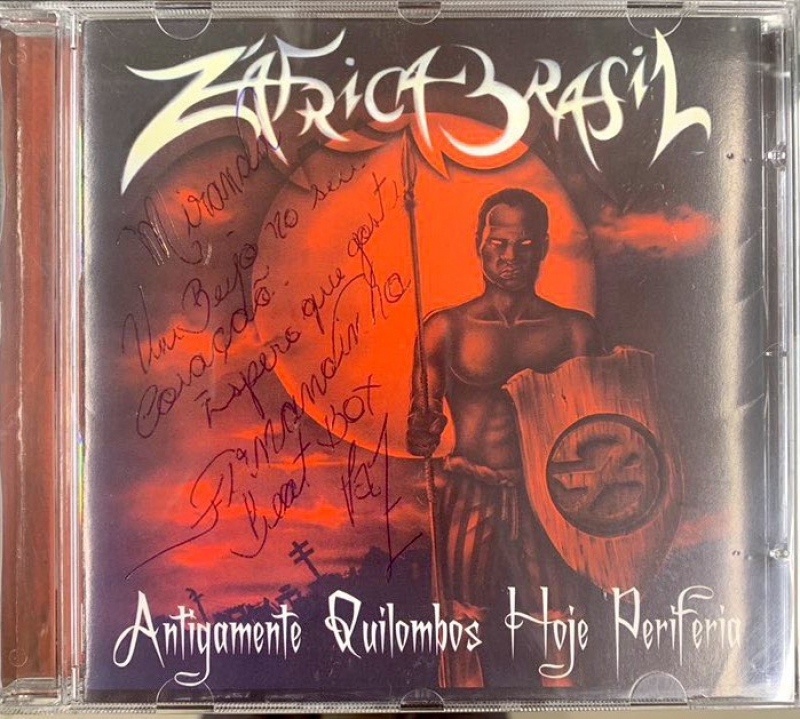 ZAfrica Brasil - Antigamente Quilombos, Hoje Periferia (CD)