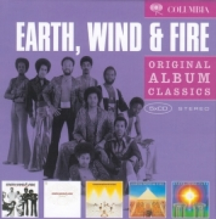 Earth Wind & Fire - Original Album Classics (5CD)