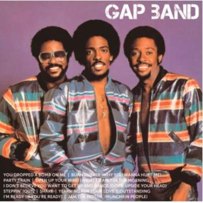 The Gap Band - Icon (NACIONAL) CD