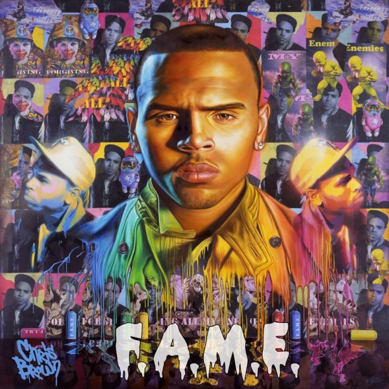 Chris Brown - F A M E  (CD)