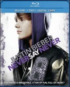 Justin Bieber - Never Say Never BLU RAY + DVD