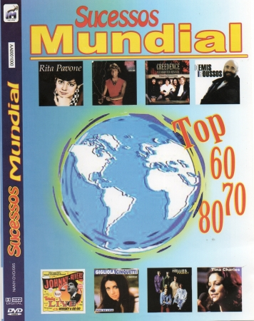 Sucessos Mundial - Top Com Os Sucessos Dos Anos 60 70 80 DVD