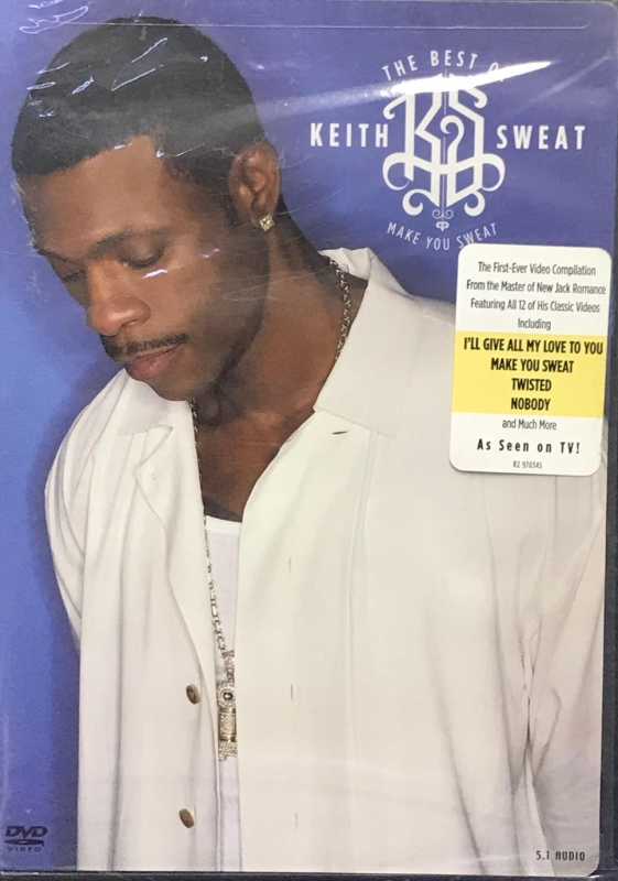 Keith Sweat - The Best of Make You Sweat (LACRADO) DVD
