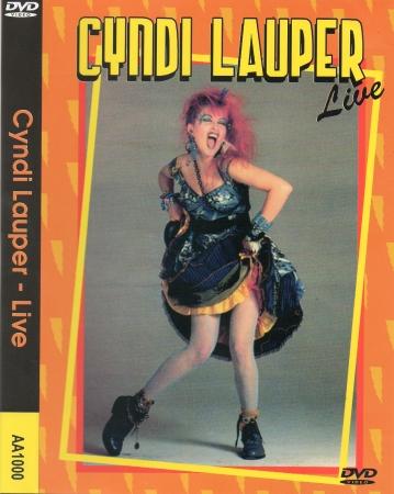 CYNDI LAUPER - LIVE DVD